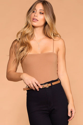 Under The Disco Ball Crop Top - Black