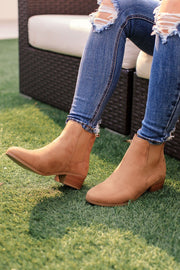 Light Tan Booties