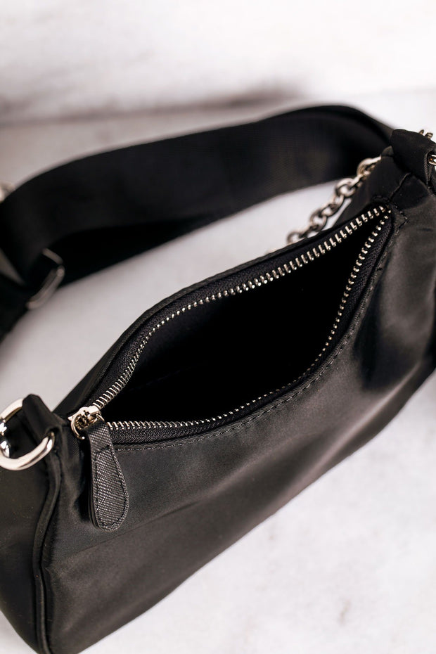 Barb Black Purse