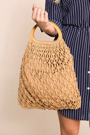 Netted Handbag