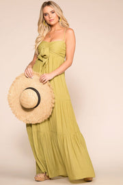 Lime Green Maxi Dress