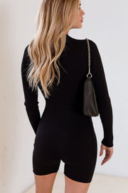 Becky Zip-Up Romper