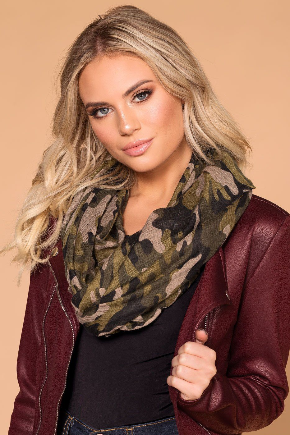 Priceless | Camo | Scarf | Accessories
