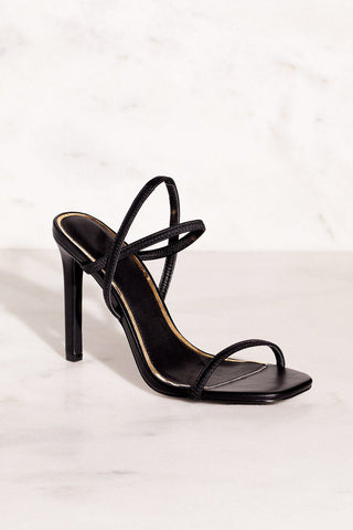 Hidden Gem Heels - Black