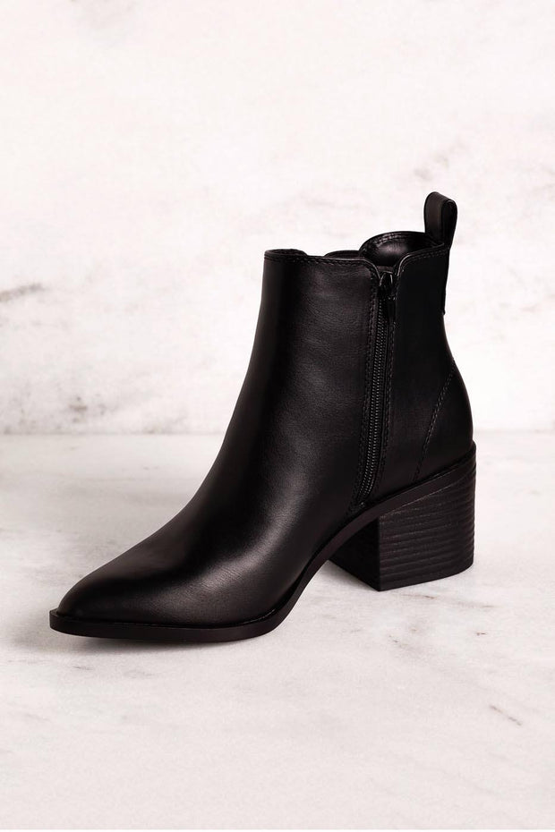 Best Foot Forward Black Booties