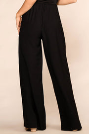 Black Wide Leg Loose Pants
