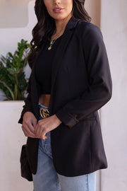 Black Oversized Blazer