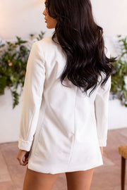 White Oversized Blazer