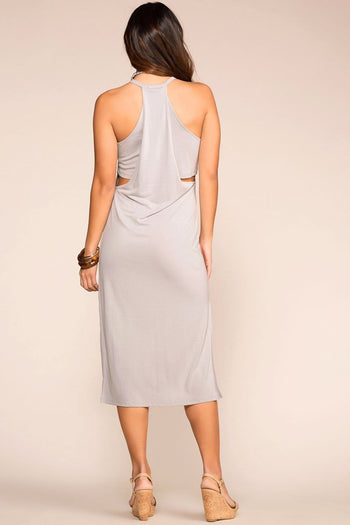 Priceless | Grey | Midi Dress | Womens