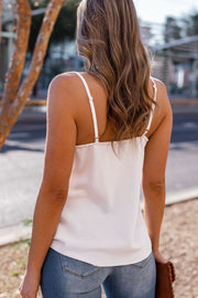 White Satin Cami