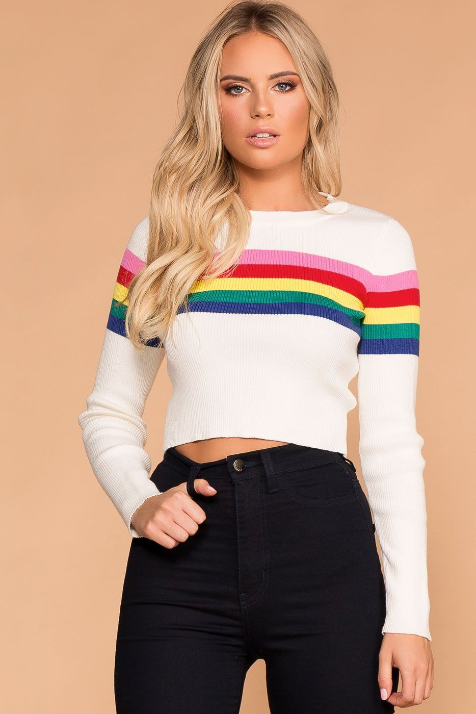 Catch A Rainbow Sweater