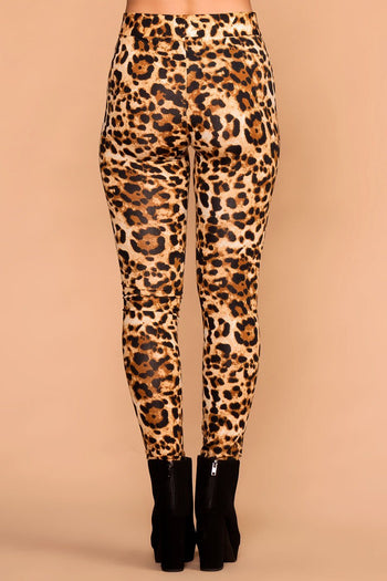 Leopard Leggings | Ankle length | Soft | Priceless