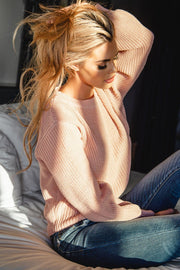 Cecilia Blush Knit Sweater