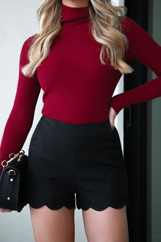 Bailey Black Off The Shoulder Knit Sweater