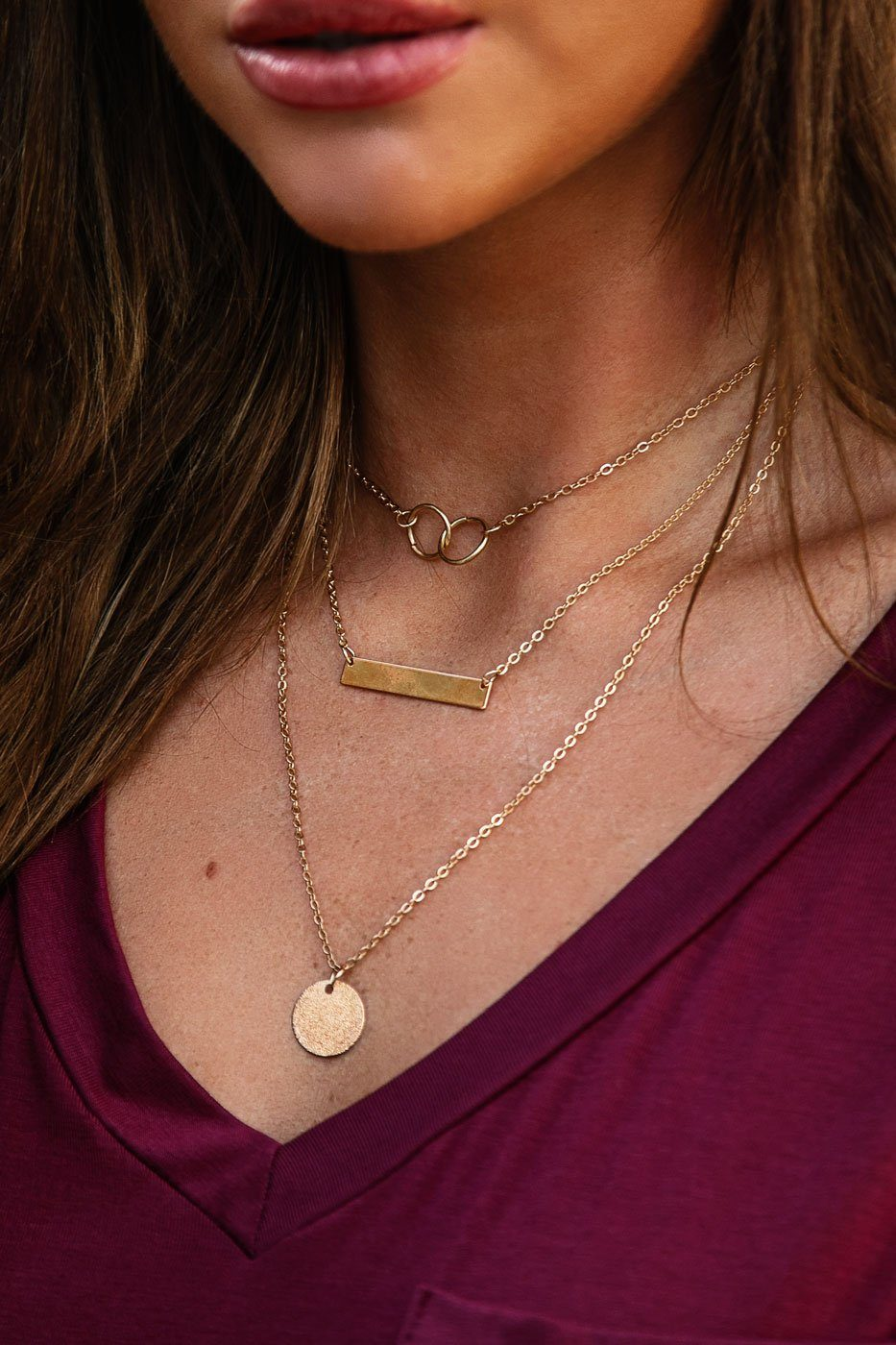 Charmed Life Gold Layered Necklace
