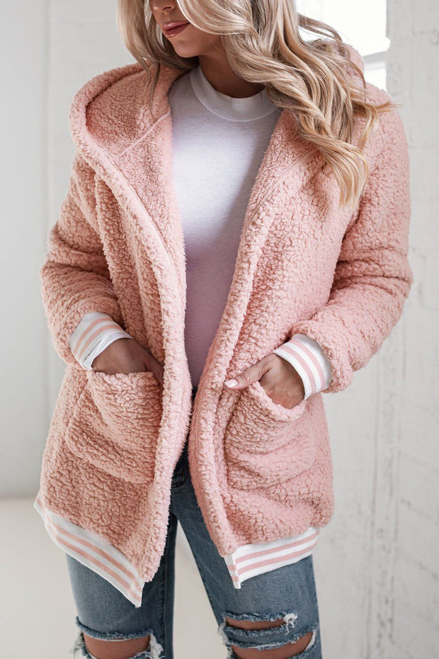 Blush Sherpa Coat
