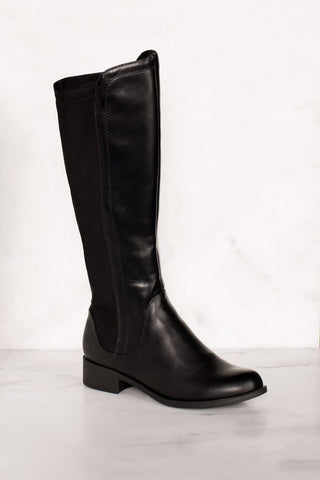 Lose Control Thigh High Boots - Wine