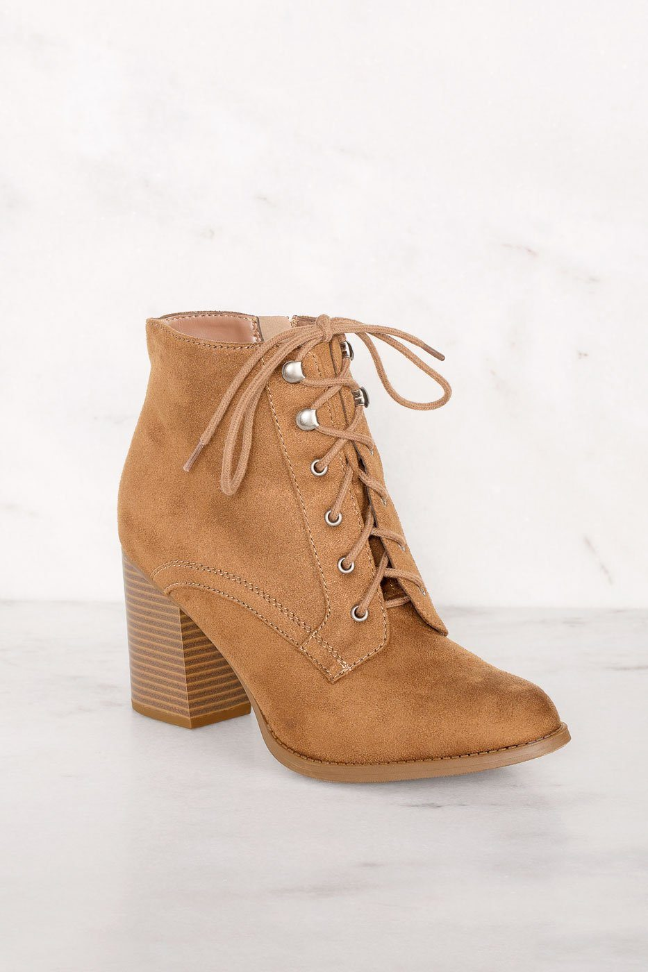 Cloud Nine Tan Booties