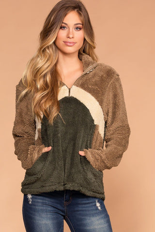 Cozy Cable Oversized Cardigan Sweater - Burgundy