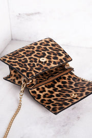Cosette Leopard Mini Purse