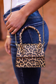Leopard Mini Purse