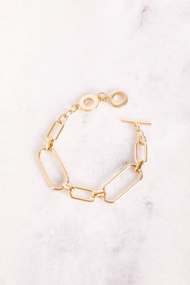Darling Gold Chain Bracelet
