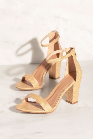 In Your Dreams Tan Wedges