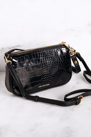 Dream It Black Croc Purse