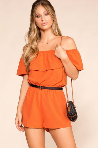 Sunset Dream Suede Bustier