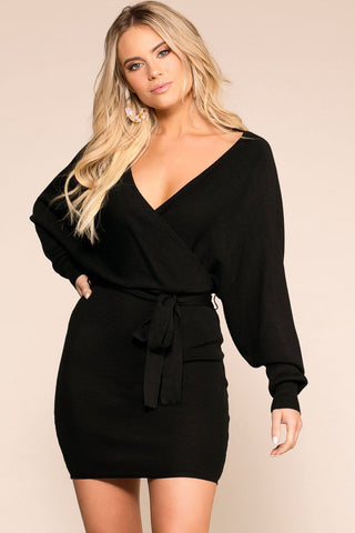 BB Black Square Bodysuit