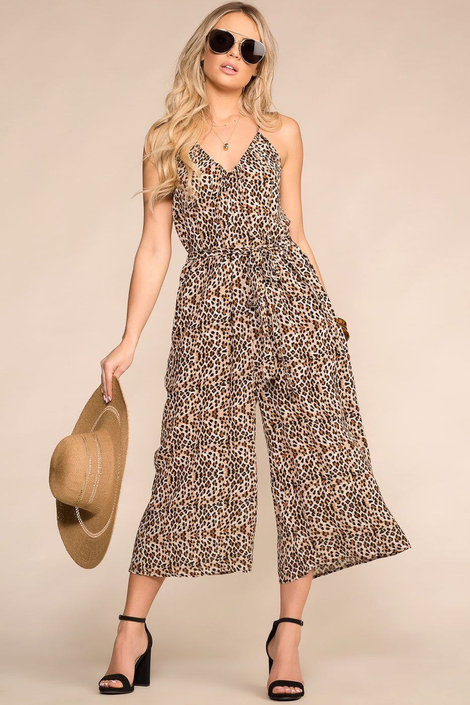 Priceless | Leopard Jumpsuit | Womens