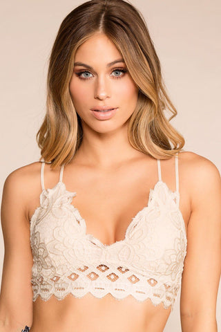 Clare Nude Lace Dress