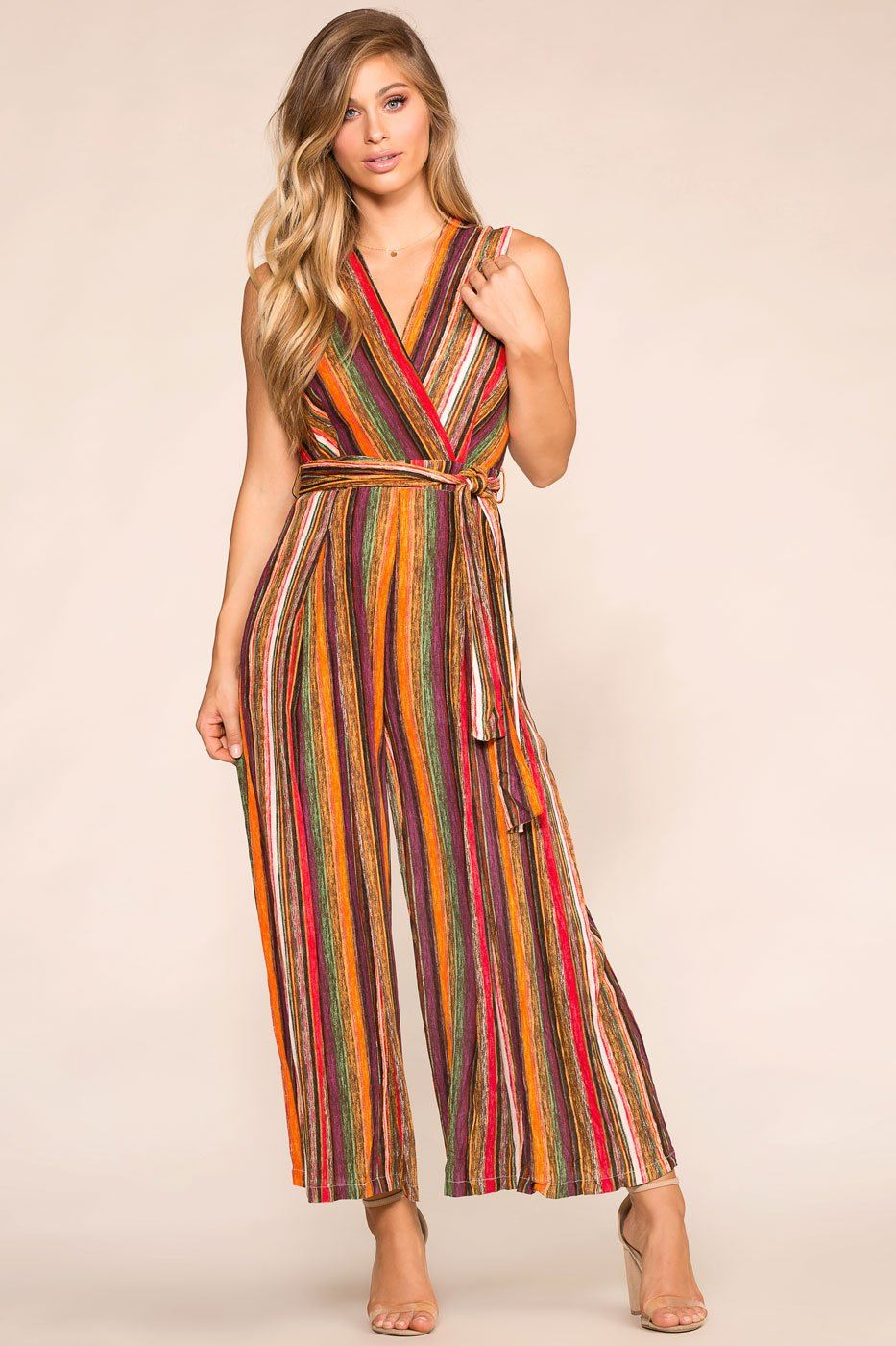Shop Priceless | Striped Jumpsuit | Womens