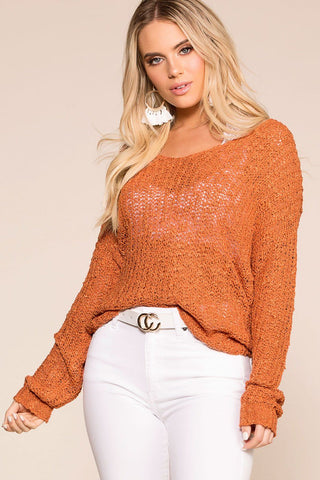 Open Sky Knit Colorblock Sweater