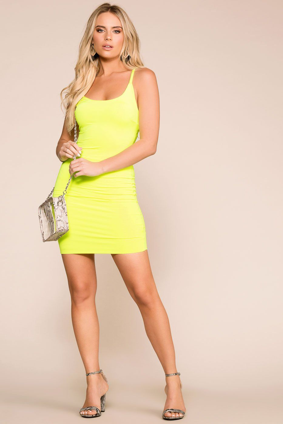 Priceless | Neon Lime | Bodycon Dress | Womens
