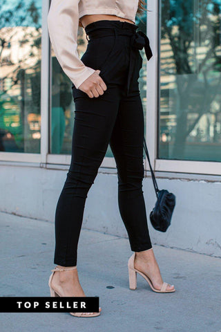 Mika Black High Waisted Jeans