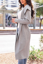 Heather Grey Duster