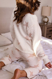 Star Pattern Lounge Sweater