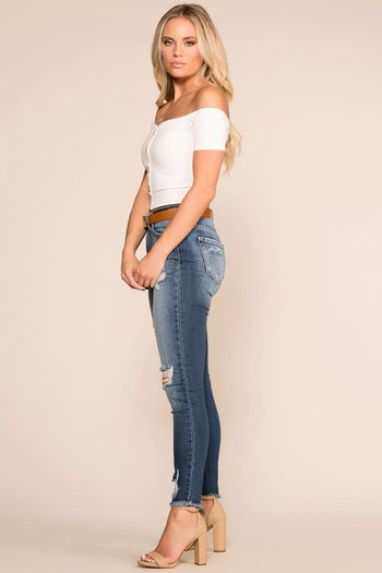 Shop Priceless | Distressed | Skinny Jeans | Womens