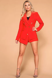 Red Blazer Business Casual