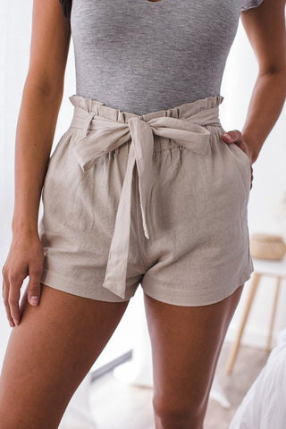 Teddy Mauve Lounge Shorts