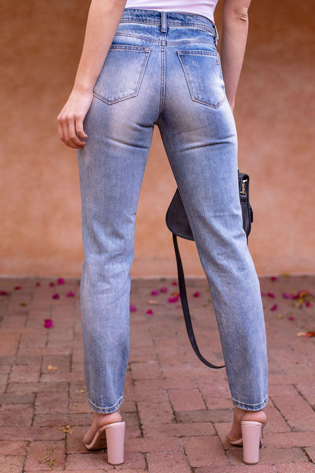 Gillian Denim Straight Leg Jeans