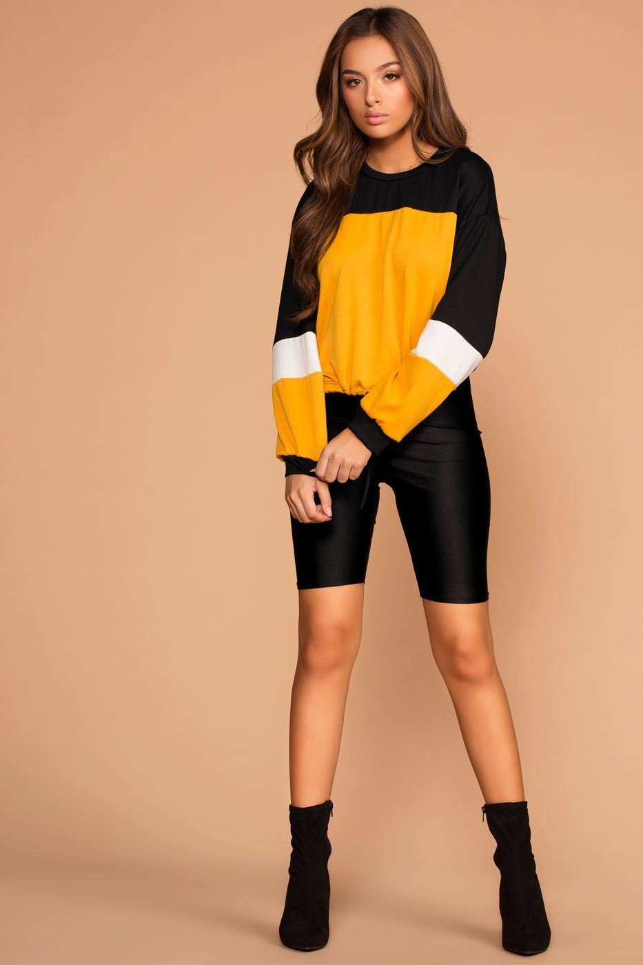 Good Sport Colorblock Drawstring Sweatshirt | Shop Priceless