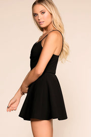 Priceless | Black | Skater Dress | Womens