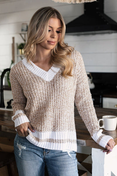 Oatmeal Knit Sweater