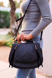 Hayes Black Purse