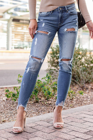 Too Easy Drawstring Jeans