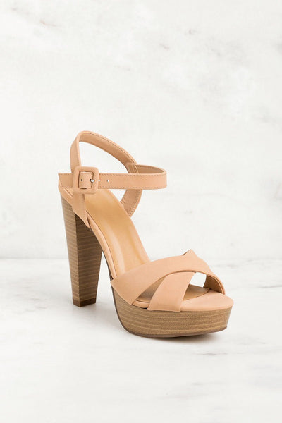 Taupe 5 Inch Heels