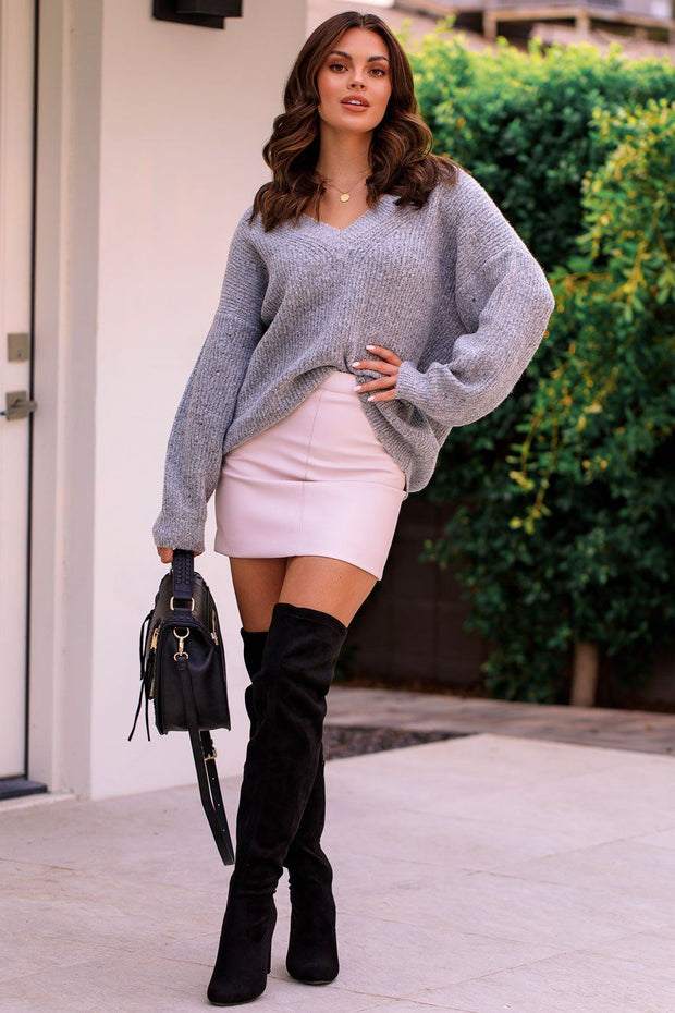 Pale Pink Mini Skirt