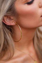 Gold Hoop Earrings